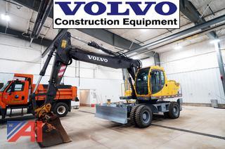 2000 Volvo EW170 Wheeled Excavator