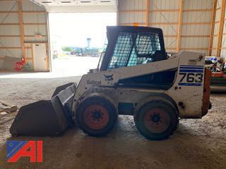 2001 Bobcat 763G Skid Steer