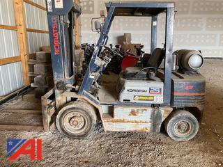 2007 Komatsu FG 25 T 11 Forklift