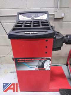 Snap-On Virtual Plane Measurement Wheel Balancer