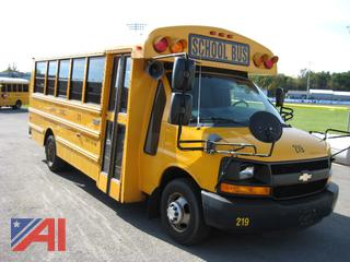 2013 Chevy Express G4500 Mini School Bus
