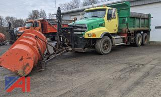 2008 Sterling LT9500 Dump Truck & Plows