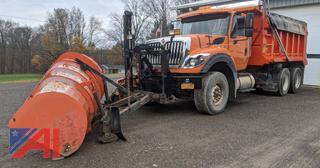 2013 International 7600 Dump Truck & Plow