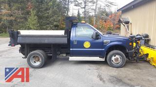2008 Ford F350 XL Super Duty Dump with Plow