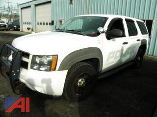 2009 Chevy Tahoe 4 Door/Police K-9 Vehicle