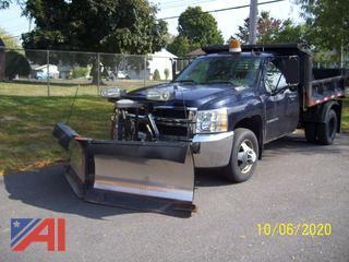 2008 Chevy Silverado 3500HD Dump Truck & Plow