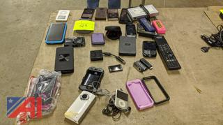 Various Cell Phones & Electronics