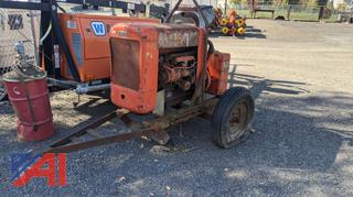 Ford Water Pump on Trailer