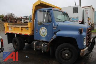 1986 International S1600 Dump Truck