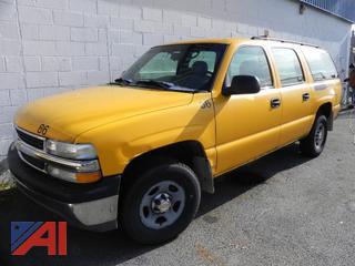 (#86) 2003 Chevy 1500 Suburban