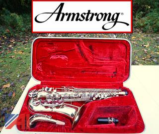Armstrong Alto Brass Saxophone with Hard Case