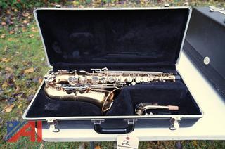 Bundy II Alto Brass Saxophone with Hard Case