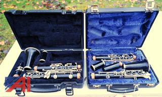 Bundy & Evette Clarinet's with Hard Cases
