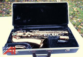 Selmer Bundy Brass Saxophone with Hard Case