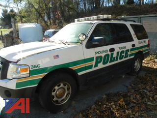 2014 Ford Expedition XL SUV/Police Vehicle