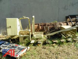 Military Tool Box, Spare Tire Carrier and Truck Step