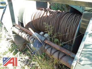 (#2) Military Hydraulic Winch