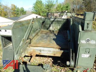 (#3) Utility Truck Body