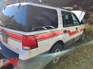 2006 Ford Expedition XLT SUV/Emergency Vehicle