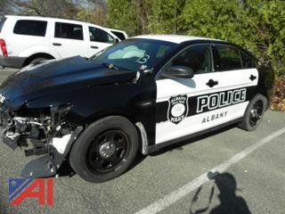 (#13) 2018 Ford Taurus 4 Door/Police Vehicle