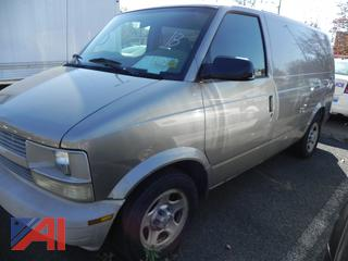 (#18) 2003 Chevy Astro Cargo Van