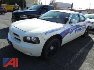 (#6) 2008 Dodge Charger SE 4 Door/Police Vehicle