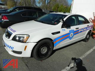(#1) 2013 Chevy Caprice 4 Door/Police Vehicle