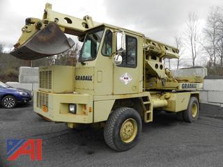 2000 Gradall GW-394-G3WD Excavator
