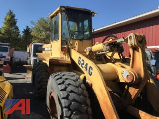 1997 John Deere 624G Wheel Loader