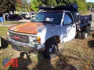 1994 Chevy Sierra C/K 3500 Dump Truck