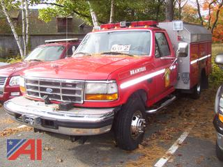 1997 Ford F450 Super Duty Utility Truck
