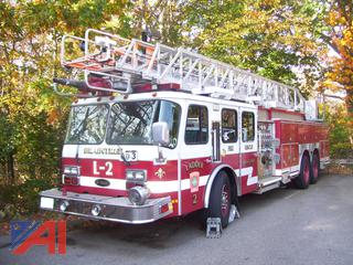 2001 Emergency One HM100 Ladder Truck