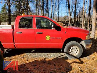 2004 Dodge Ram 1500 Quad Cab Pickup Truck