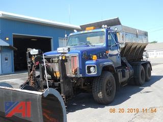 1998 International 2674 Truck with Plow, Wing and Stainless Steel Sander
