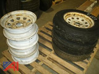 Various Tires and Rims