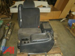Passenger Seat and Center Consoles for Pickup Truck