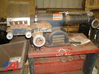 Ammco Brake Lathe With Attachments