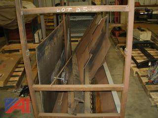Assorted Steel and Steel Rack