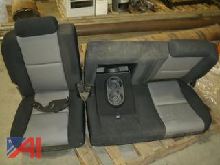 Rear Seat From Chevy Silverado Pickup Truck