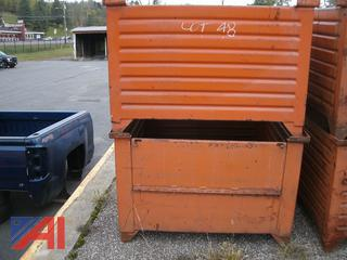 4,000 lb. Steel Storage Totes