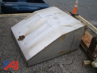 Stainless Steel Brine Tank from Vtrans Plow Truck