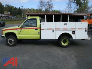 1993 GMC Sierra C/K 3500 Utility Truck