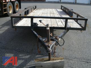 Ringo Hill Farm Equipment 18' Dual Axle Trailer