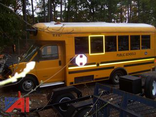 2011 Chevy Express 4500 Wheelchair Mini School Bus