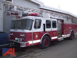 1996 Emergency One 100' Ladder Truck