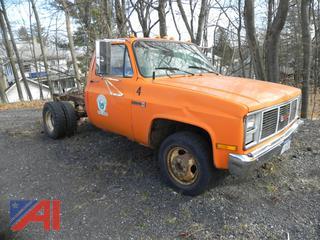 1988 GMC High Sierra R3500 Cab & Chassis Truck