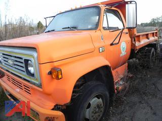 1990 Chevy C6D042 Dump Truck