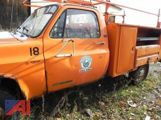 1989 GMC R3500 Utility Truck