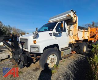 2008 GMC C8500 Dump Truck with Sander