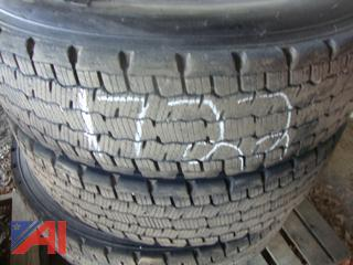 (#1722) Michelin XDN2 Radial 12R22.5 Tires